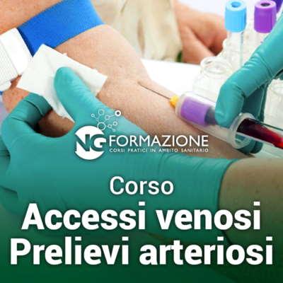 accessi venosi prelievi arteriosi