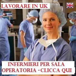 Lavorare in Inghilterra
