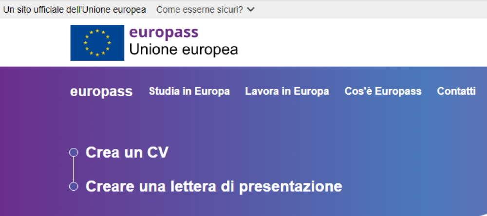Come Creare Il Proprio Curriculum Nel Formato Europeo