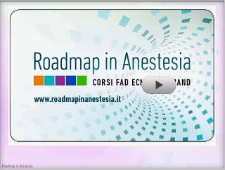 roadmap anestesia